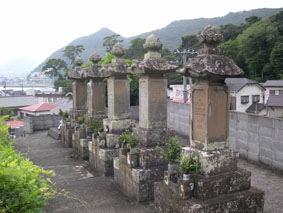 黒船(ペリー艦隊)乗組員の墓所